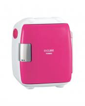 ピンク●2電源式コンパクト電子保冷保温ボックスD-CUBE S○HR-DB06P