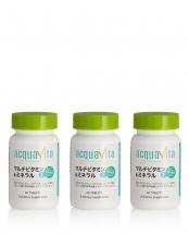 42338●マルチビタミン&ミネラル+64種の野草発酵エキス(60粒/1ヵ月分)×3○C1