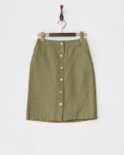 カーキ●フロントボタンスカート○162065