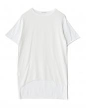ホワイト●前後切り替えTシャツ○B15