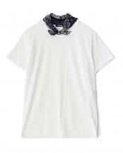 オフシロ●オフホワイト バンダナ Tシャツ MENS○NE63JK915