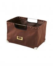 ブラウン Canvas Container 収納ボックス(レギュラーサイズ)