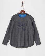チャコールグレー●ループシャツ(プルオーバー)○B1565RFB024