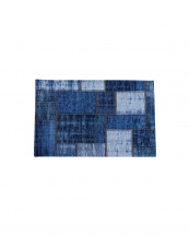 ブルー パグルン 50×80   ベルギー製マット