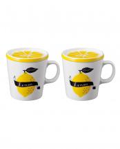 LEMON DAILY フルーツマグカップ 2個セット
