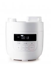 ホワイト●siroca 電気圧力鍋(スロー調理機能付き)○SP-D131(W)
