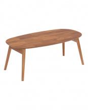 Bricky アカシア材 折れ脚テーブル (楕円)○82-628