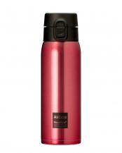 レッド●真空断熱ステンレスマグボトル(エアゼロ)500mL○AZ-C500