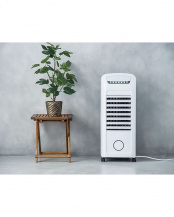 ホワイト●温冷風扇 ヒートアンドクール○HC-T1802WH