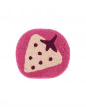 ピンク●イチゴ チェアパッド○JB237113