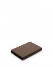ブラウン●日本製 綿100% ベッドフィットシーツ○2188-52101