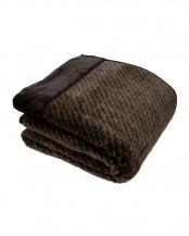 ブラウン●吸湿発熱 あったかわた入り毛布 200×200cm クイーン○2025-76500