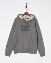 DARK HEATHER GREY●DESIGN MARK HOODED SWEATSHIRT○2910861