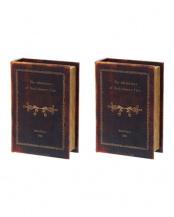 ハックルベリー ブックボックス 2個セット