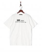 ホワイト●CYA/TS TOKYO天竺クルーネック半袖Tシャツ○CYA18U0016