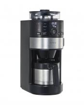 シルバー●siroca コーン式全自動コーヒーメーカー○SC-C122