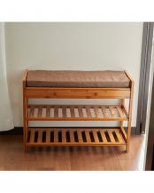 座ってしまえる竹製マルチラック○EF-BA06