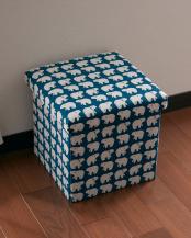 シロクマ●座ってしまえて畳める便利ボックス○EF-SR17E
