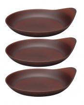 ダークブラウン●Drip Plate L 3枚セット○39-22817*3