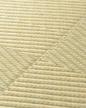 グリーン●PP置き畳 市松模様(いちまつもよう) 82×82×2.5cm○159055500