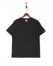 ブラック●カジュアルTシャツ クルーネック○GR473HS
