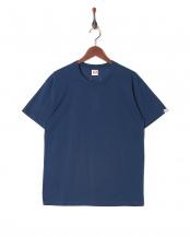 ネイビー●カジュアルTシャツ クルーネック○GR473HS