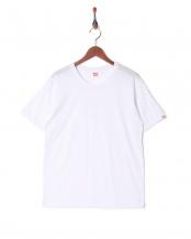 ホワイト●カジュアルTシャツ クルーネック○GR473HS