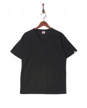 ブラック●カジュアルTシャツ Vネック○GR474HS