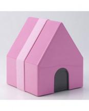 PINK●家形ランチボックス maison de lunch○0601-0003