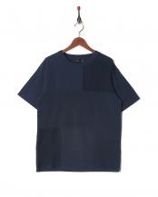 NAVY●30//-MVS パッチワークTシャツ○5255328