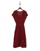 BURGUNDY●ONE PIECE DRESS○11823106