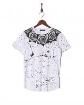 ホワイトローズ●Tシャツ○MLM-954