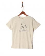 オートミール●プリント半袖Tシャツ(大人)○319106