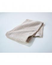 アイボリー●細番手高級糸「コーマ綿」 フェイスタオル 10枚セット○EF-TW09IVx10