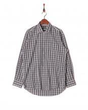 グリーン系●ワイシャツ 長袖 標準体 襟型ワイド○BM016502AA13W3A