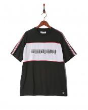 black●Oversize Logoline T-shirt○AZT-904