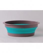 ブルー バッシヌ(畳める洗い桶)