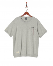 MIXGRAY●HEAVY WEIGHT RIB T-SHIRT R34○10081-10169