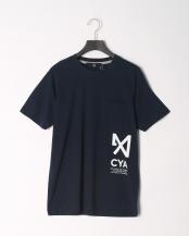 ネイビー●CYA/TS P-CHANGE ポケ付Tシャツ○CYA18U0063