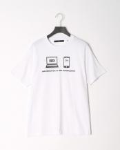 ホワイト●CYA/TS KNOWLEDGE Tシャツ○CYA18U0065