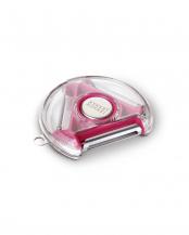 ピンク(海外仕様パッケージ)●ロータリーピーラー(皮むき器)○PEBR0100CB