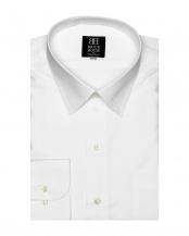 ホワイト系●形態安定 ノーアイロン 長袖ワイシャツ レギュラー ホワイト○BM019100AC15R1Z
