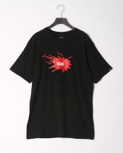 BLACK●半袖Tシャツ○VA18HS-MT14