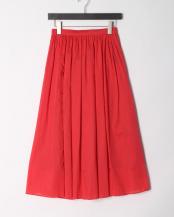 赤●カラーマキシスカート○913018-402