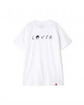 WHITE プリントTシャツ R/B(バイイング)○6019113027