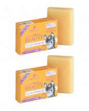 オーガニック ロバミルクソープ オレンジ&ラベンダー 2個セット○4935137902032×2