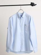 ライトブルー●サンライトキモウボタンダウンシャツ[WEB限定サイズ] a.v.v HOMME○KHBBG20039