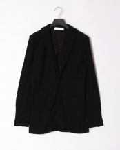 ブラック●pile notched jacket○JSC-801