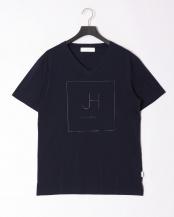ネイビー●box logo t-shirt○JST-804