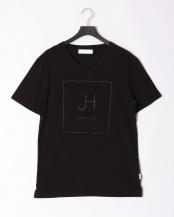 ブラック●box logo t-shirt○JST-804